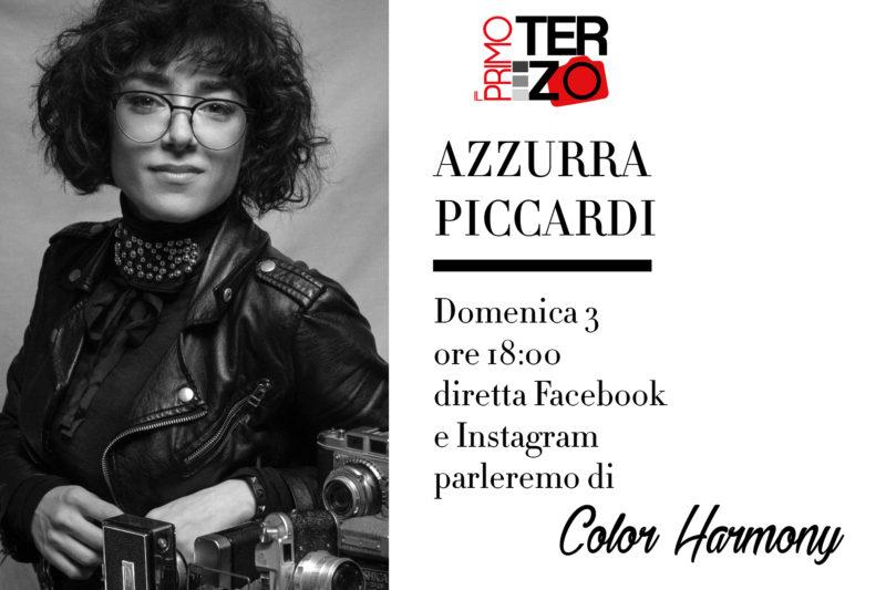Fotoclub Il Primo Terzo Prato in diretta con Azzurra Piccardi di Imagery Academy parleremo di Color Armony