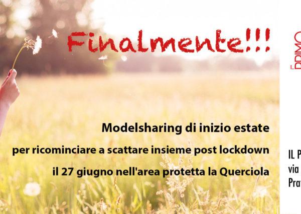 Fotoclub Il Primo Terzo Prato, ModelSharinng di inizio estate