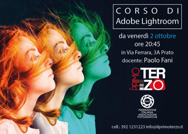 Corso di Adobe lightroom, corso di fotografia a Prato, associazione il primo terzo, studio fotografico, fotoclub
