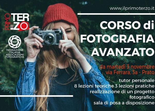 Corso avanzato di fotografia, corso di fotografia a Prato, associazione il primo terzo, studio fotografico, fotoclub