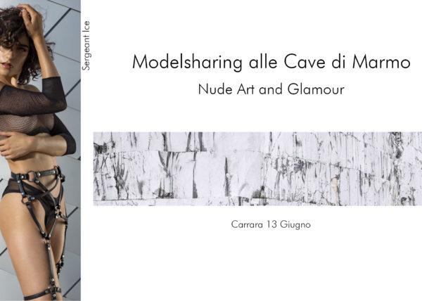 Modelsharing Nude Art e Glamour in Cava di Marmo cone le bellissime modelle Sergeant Ice e Sadie Gray, fotoclub Il Primo Terzo Prato