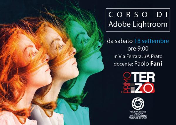 Corso di Adobe Lightroom, Photoshop a Prato, Fotoclub Il Primo Terzo, Sala Di Posa