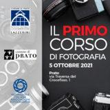 Corso base di fotografia a Prato, organizzato dal fotoclub Il Primo Terzo in collaborazione con il comune di Prato